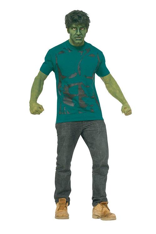 Hulk halloween costume with wig
