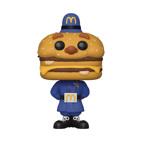 POP AD ICONS MC DONALDS OFFICER BIG MAC VINYL FIGURE (Must order 12 or more)