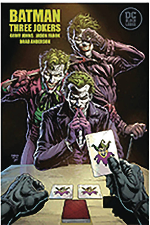 BATMAN THREE JOKERS #1 FABOK SGN (C: 0-1-2) DYNAMIC FORCES FINAL COVER MAY VARY.