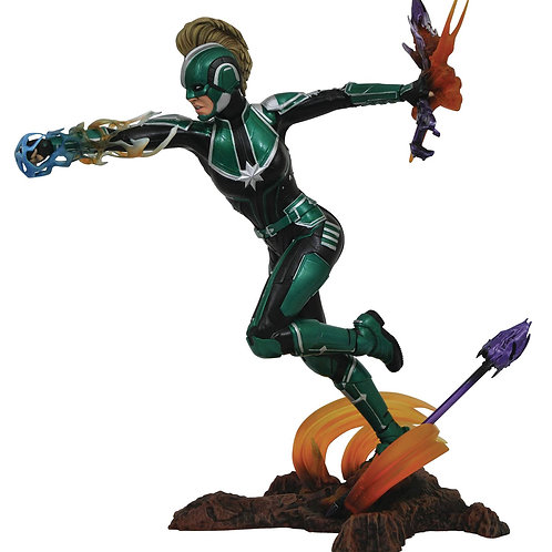 MARVEL GALLERY CAPTAIN MARVEL MOVIE STARFORCE PVC FIGURE (C: DIAMOND SELECT TOYS