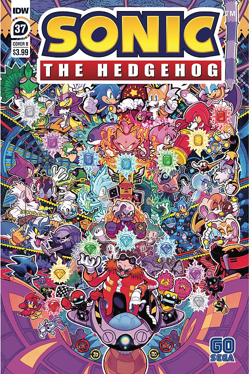SONIC THE HEDGEHOG #37 CVR B JON GRAY (C: 1-0-0) IDW PUBLISHING (W/A) Evan Stanl