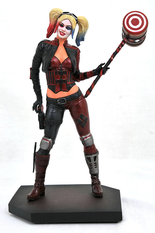 DC GALLERY INJUSTICE 2 HARLEY QUINN PVC STATUE (C: 1-1-2) DIAMOND SELECT TOYS LL
