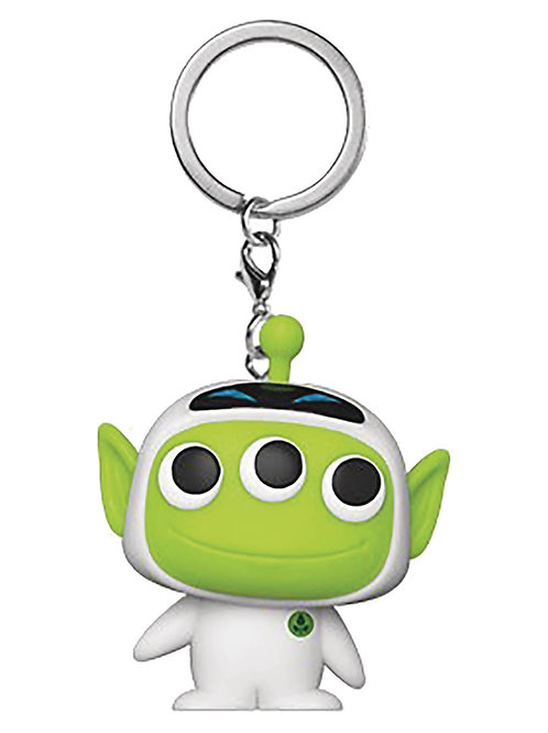 POCKET POP PIXAR ALIEN AS EVE KEYCHAIN (Must order 12 or more)