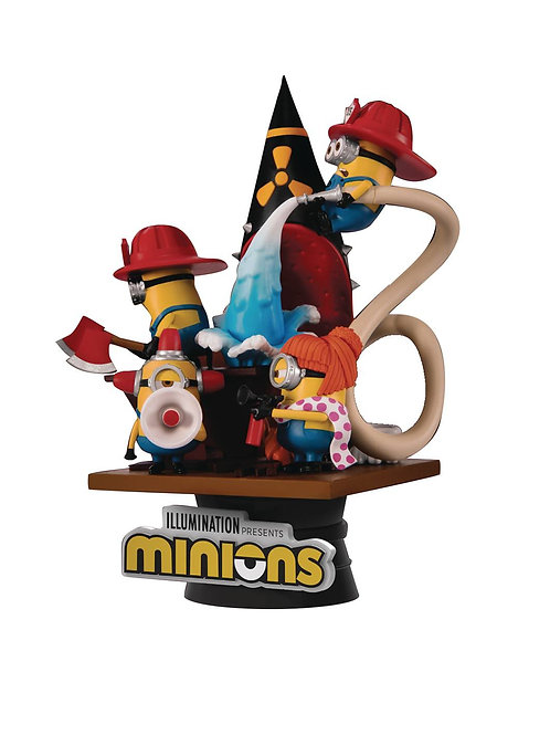 MINIONS DS-049 FIRE FIGHTER D-STAGE SER 6IN STATUE (C: 1-1-2 BEAST KINGDOM CO.,