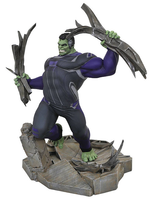 MARVEL GALLERY AVENGERS 4 TRACKSUIT HULK DLX PVC FIG (C: 1-1 DIAMOND SELECT TOYS