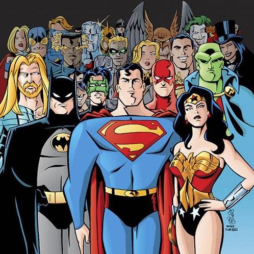 JOHN DELANEY - Justice League Adventures, Futurama