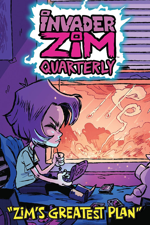 INVADER ZIM QUARTERLY ZIMS GREATEST PLAN #1 CVR B CAB ONI PRESS INC. (W) Sam Log