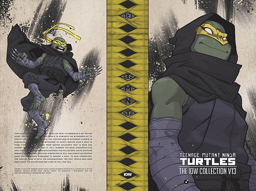 TMNT ONGOING (IDW) COLL HC VOL 13 (C: 0-1-0) IDW PUBLISHING (W) Kevin Eastman &