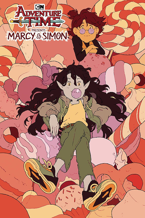 ADVENTURE TIME MARCY & SIMON #3 (OF 6) CONVENTION EXC VAR BOOM! STUDIOS (W) Oliv