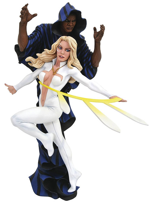 MARVEL GALLERY CLOAK & DAGGER COMIC PVC FIGURE (C: 1-1-2) DIAMOND SELECT TOYS LL