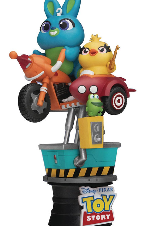 COIN RIDE DS-062 BUNNY & DUCKY D-STAGE SER 6IN STATUE (C: 1- BEAST KINGDOM CO.,