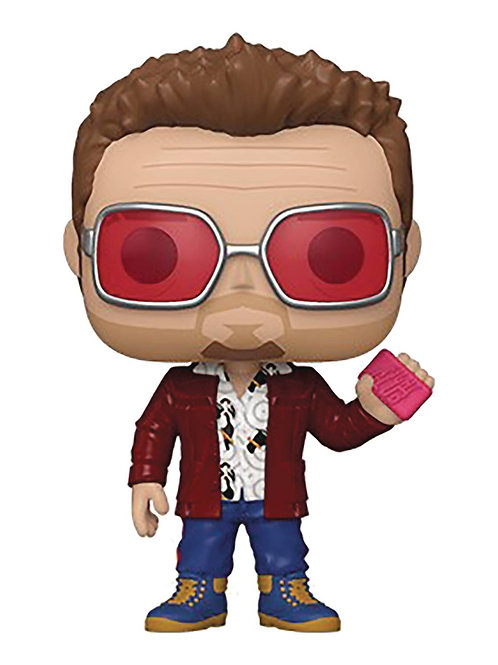 POP MOVIES FIGHT CLUB TYLER DURDEN W/BUDDY VIN FIG (must order 12 or more)
