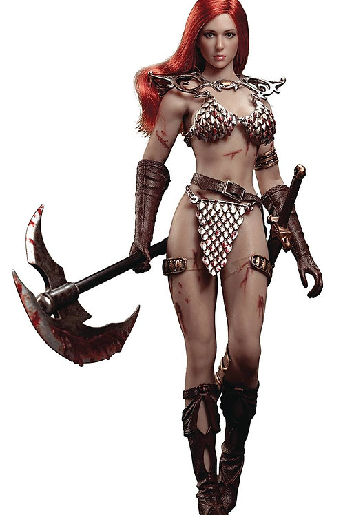 RED SONJA 1/12 SCALE FIGURE (Net) (C: 0-1-2) EXECUTIVE REPLICAS INC. Red Sonja -