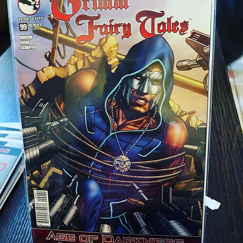 Grimm Fairy Tales #99 autographed by Marat, pressed and graded