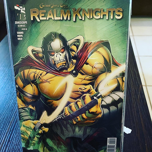 Realm Knights 1, pressed by Jen, autographed by Marat, and graded by CGC