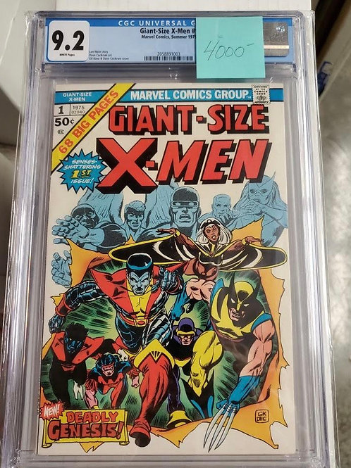 Giant Size X-Men #1, CGC 9.2