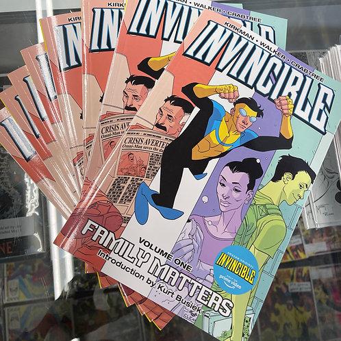 Invincible TP vol 01: Family Matters