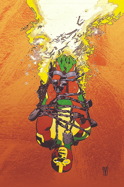 MISTER MIRACLE THE SOURCE OF FREEDOM #1 (OF 6) CVR B VALENTINE DE LANDRO CARD ST