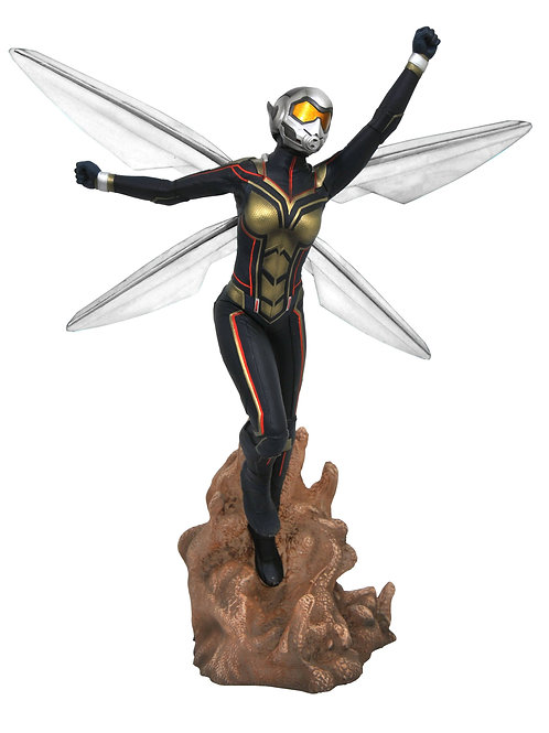 MARVEL GALLERY ANT-MAN & THE WASP MOVIE WASP PVC FIGURE (C: DIAMOND SELECT TOYS