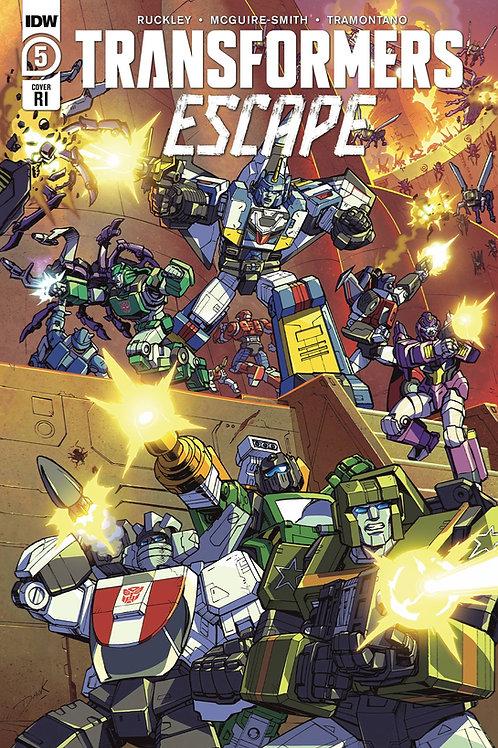 Transformers Escape #5 (of 5) 11-bk bundle, (5)A, (5)B + 1:10