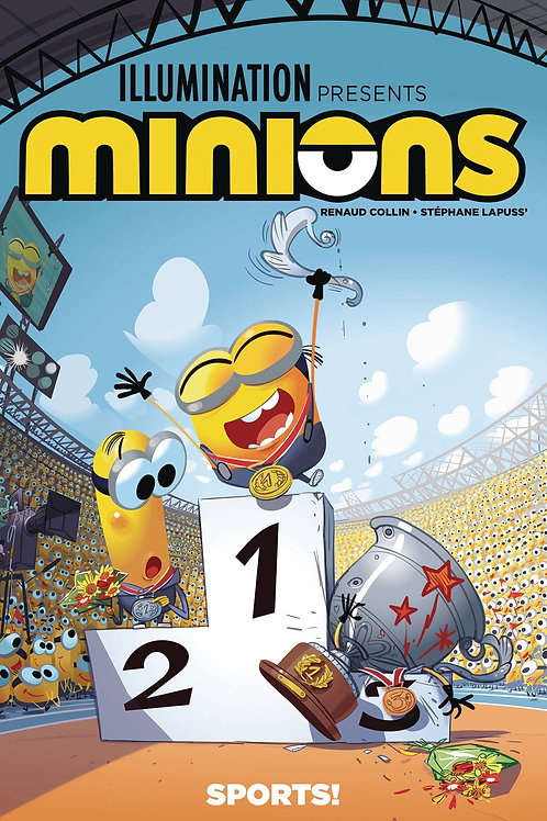 MINIONS SPORTS TP TITAN COMICS (W) Stephane Lapuss (A/CA) Renaud Collin Ahead of
