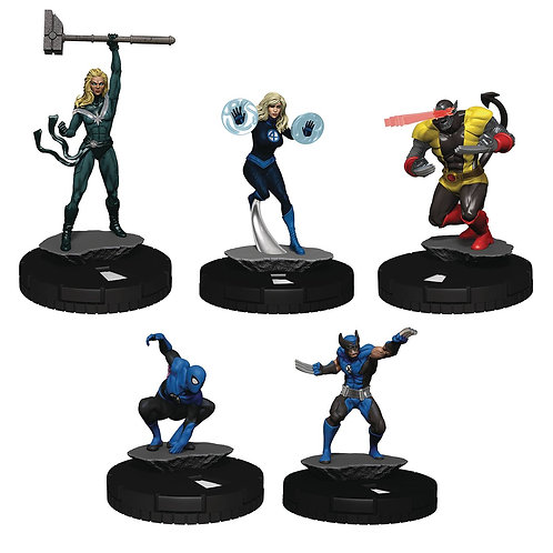 MARVEL HEROCLIX AVENGERS FF EMPYRE MINIATURES GAME (C: 0-1-2 WIZKIDS/NECA From W