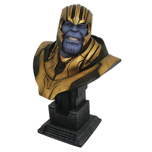 LEGENDS IN 3D MARVEL AVENGERS 4 THANOS 1/2 SCALE BUST (MUST ORDER 6 OR MORE)