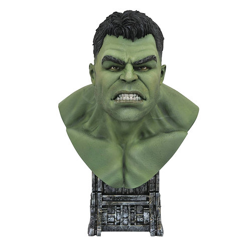 LEGENDS IN 3D MARVEL MOVIE THOR RAGNAROK HULK 1/2 SCALE BUST (MUST ORDER 6 OR MO