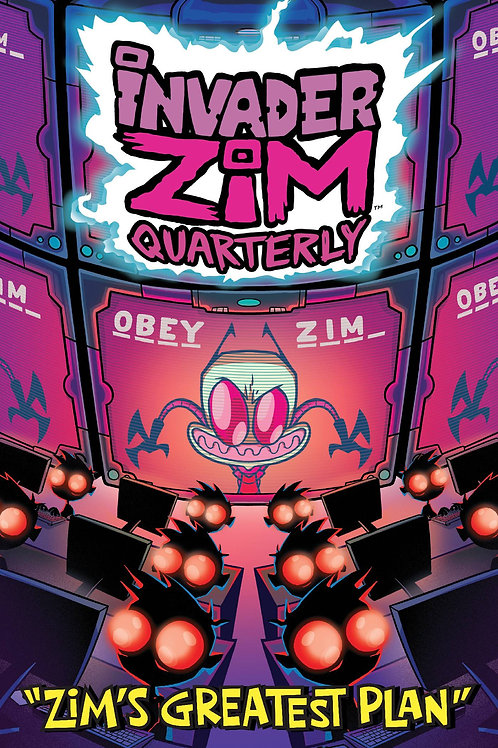 INVADER ZIM QUARTERLY ZIMS GREATEST PLAN #1 CVR A STRESING ONI PRESS INC. (W) Sa