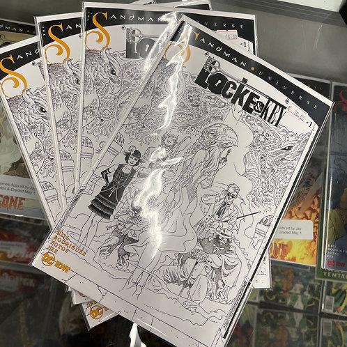 Locke & Key Sandman Hell & Gone#1 1:10 variant