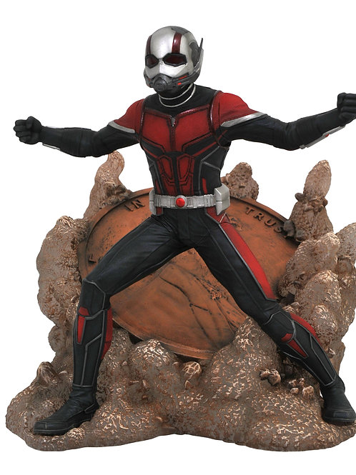 MARVEL GALLERY ANT-MAN & THE WASP MOVIE ANT-MAN PVC FIGURE ( DIAMOND SELECT TOYS