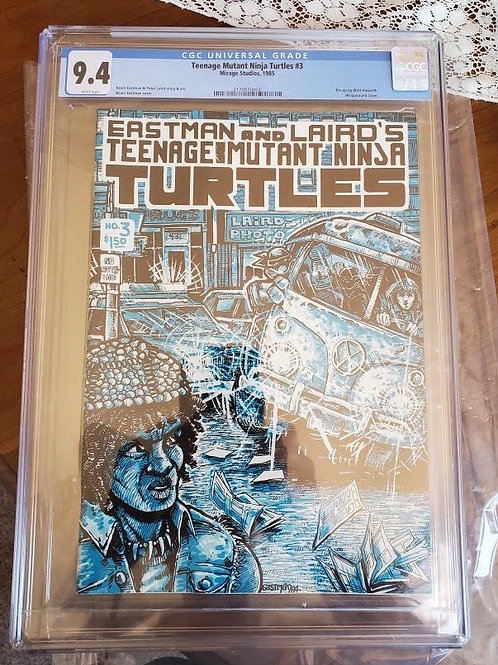 Teenage Mutant Ninja Turtles #3, CGC 9.4