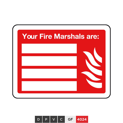 Your Fire Marshal are (insert text)