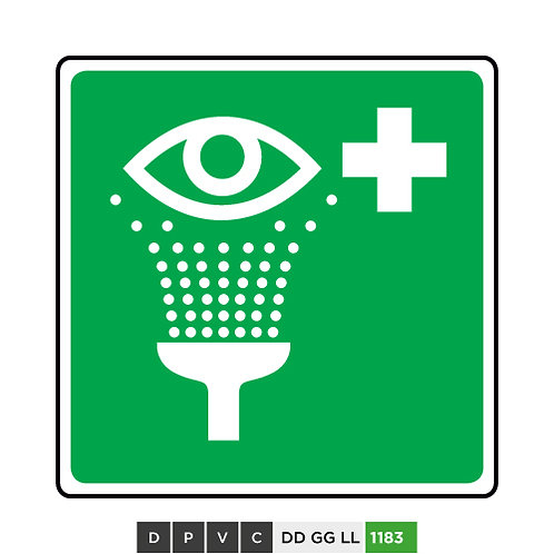 Eyewash station symbol