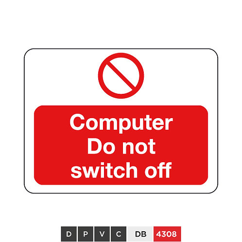 Computer, Do not switch off