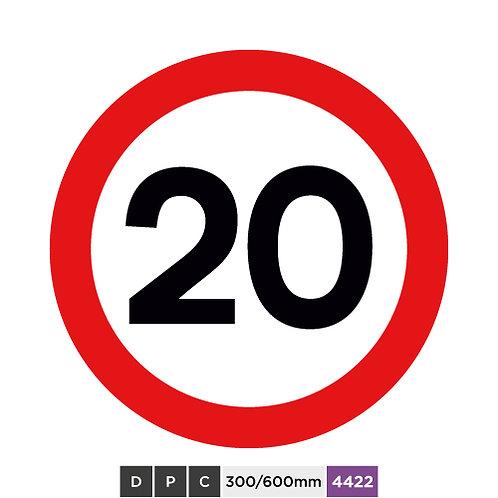 Speed limit 20