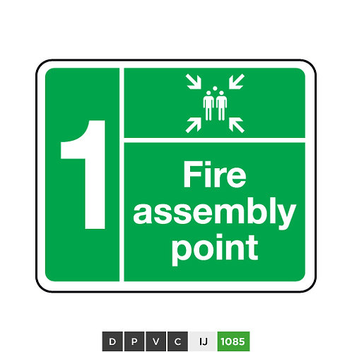 Fire Assembly Point - 1