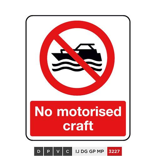No motorised craft