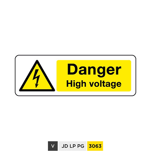 Danger, High voltage