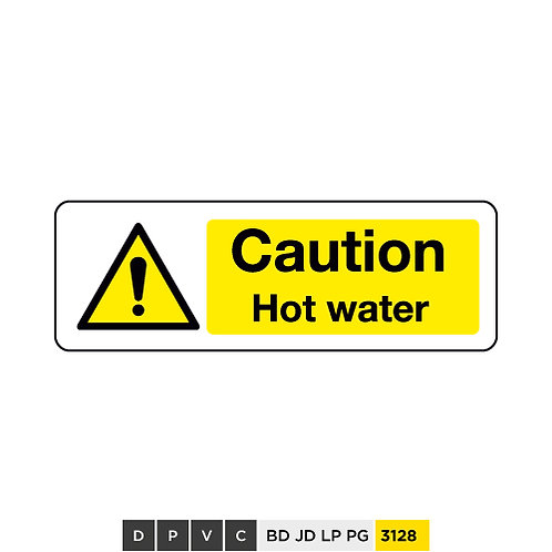 Caution, Hot water