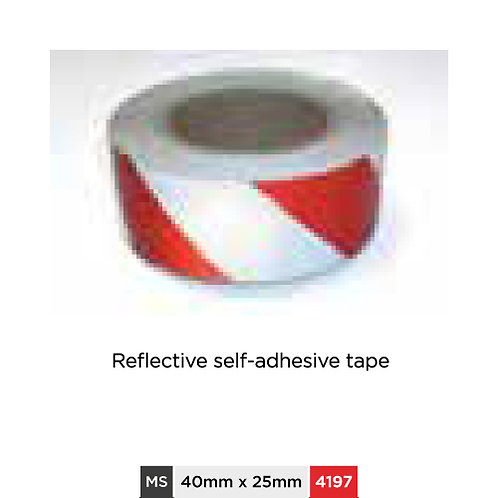 Reflective self-adhesive tape