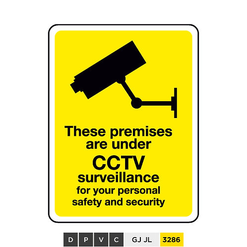 These premises are under CCTV surveillance for your personal safety and ...