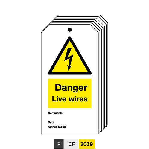 Danger, Live wires
