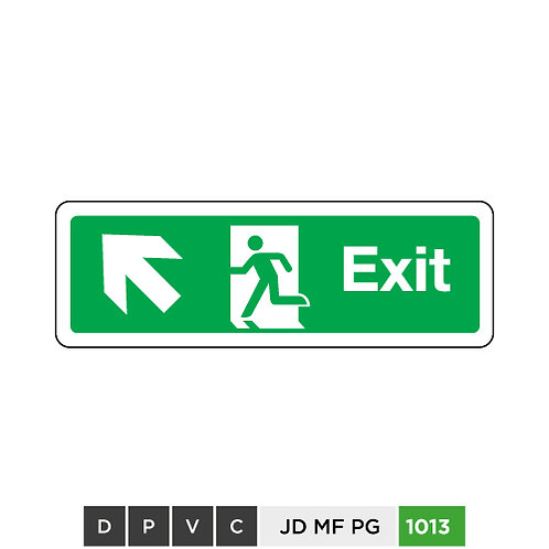 Exit (arrow top-left)