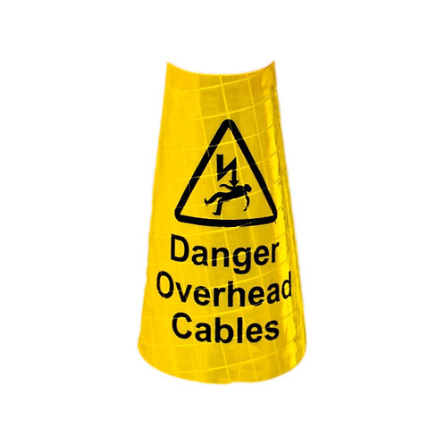Yellow sleeve for Dominator™ - Overhead Cables