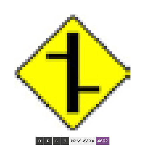Staggered crossroads