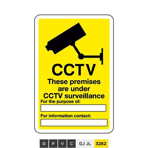 CCTV, These premises are under CCTV surveillance