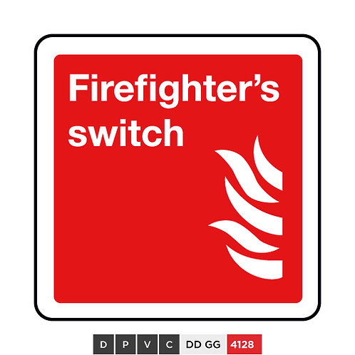 Firefighter's switch
