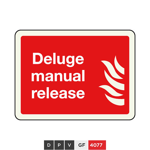 Deluge manual release