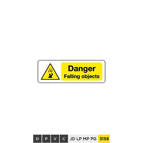 Danger, Falling objects